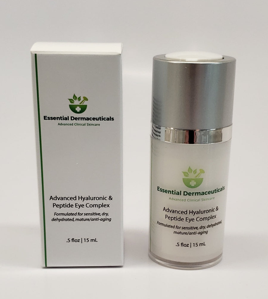 Facial Skincare Services - shop-anikabeauty-com - Advanced Hyaluronic & Peptide Eye Complex Essential Dermaceuticals Eyes