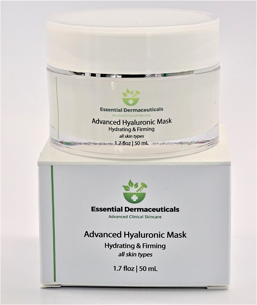 Facial Skincare Services - shop-anikabeauty-com - Advanced Hyaluronic Mask - Hydrating & Firming - All Skin Types Essential Dermaceuticals Hyaluronic Facial Mask