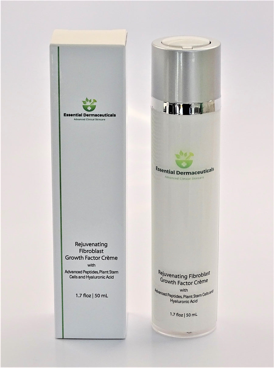 Facial Skincare Services - shop-anikabeauty-com - Rejuvenating Fibroblast Growth Factor Crème  Advanced Peptides, Plant Stem Cells and Hyaluronic Acid Essential Dermaceuticals Face