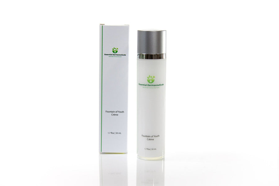 Facial Skincare Services - shop-anikabeauty-com - Fountain of Youth Creme with Tetrapeptide Essential Dermaceuticals Face