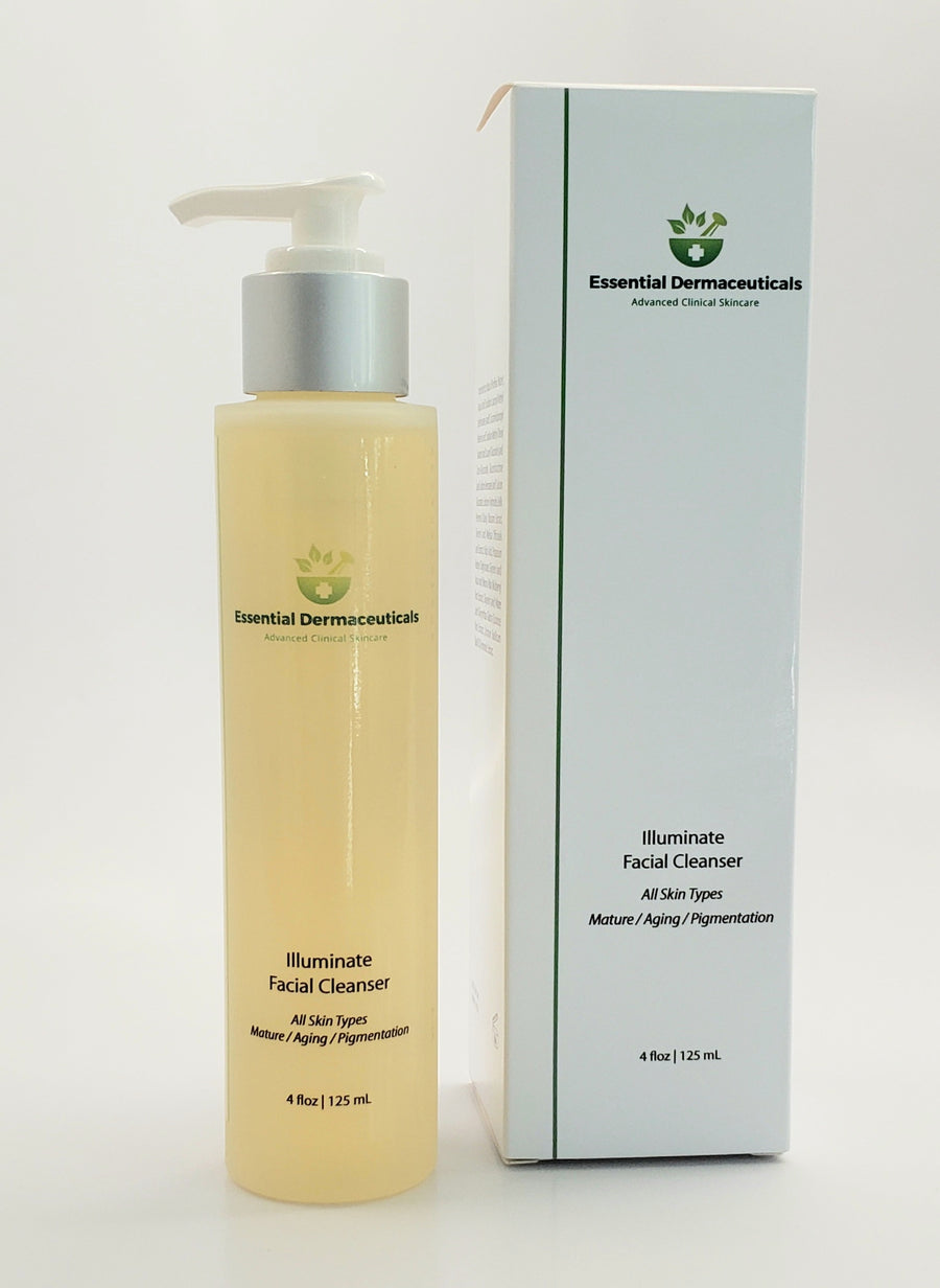 Facial Skincare Services - shop-anikabeauty-com - Illuminate Facial Cleanser- All skin types - Mature / Aging / Pigmentation Essential Dermaceuticals Face.