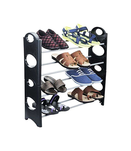 Stackable Shoe Rack Storage, 4 Layer - 12SHRK