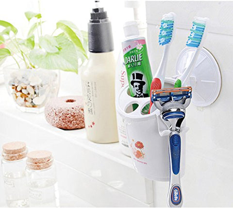 Portable Suction Cup Toothbrush Case - 1927THPCS