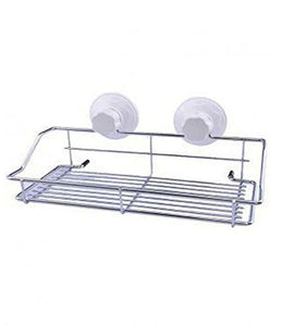 Cupula Portable Suction Storage Basket For Bath & Kitchen Hanging Basket for Kitchen - 1950CSB