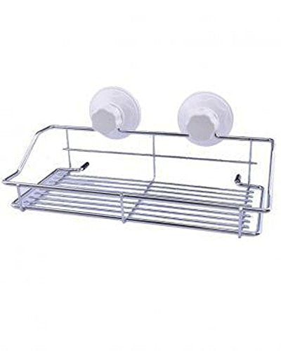 Cupula Portable Suction Storage Basket for Bath & Kitchen - 1950CSB