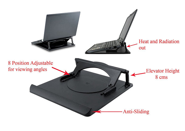 Multipurpose 360STBL Laptop Stand Rotating Stand For Laptop - 360ST