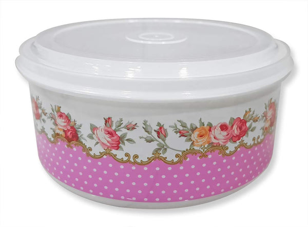 Plastic Lunch Box Tiffin Dabba Multi Purpose Containers for Home Office Use - 5PCRDLUNCH-PK