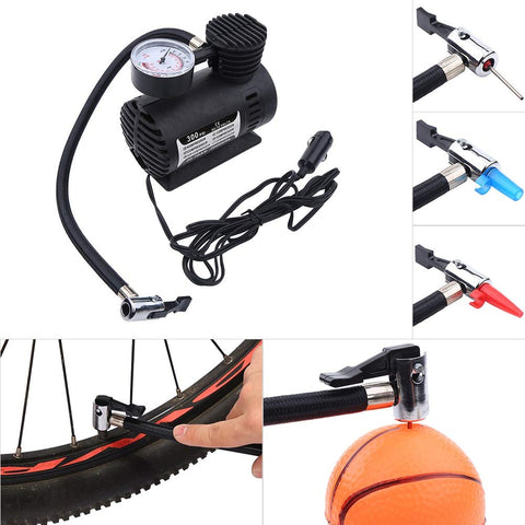 300 psi Tyre Air Pump for Car & Bike Air Compressor For Car And Bike Tyre - AP55013