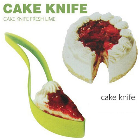 Plastic Kitchen Ergonomic Design Cake Pastry Server Cutter & Slicer - CAKE003