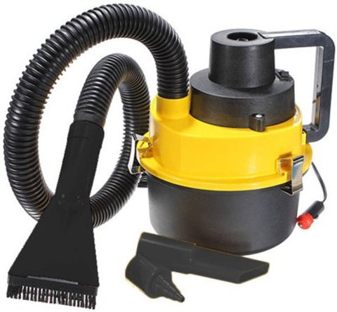 CRVCCM3 Car Vacuum Cleaner  (Black, Yellow) - CRVCCM3