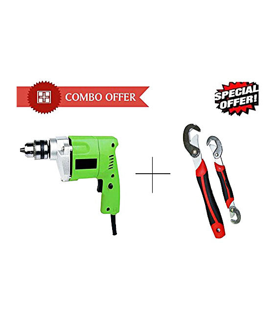 Buy New 10mm Powerful Drill Machine With Snap N Grip Wrench Set - DRLSNPG
