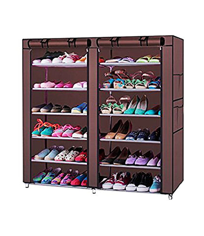 Standard Double Dust proof  Damp proof Shoe Rack Multi color  - DST2712