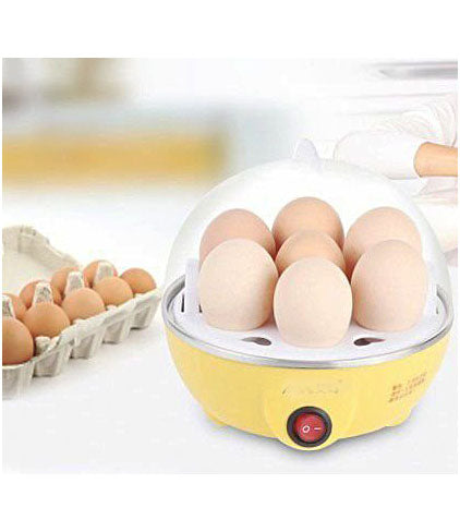Portable Electric 7 Egg Boiler Egg Poacher Egg Cooker - EGGCOOKER