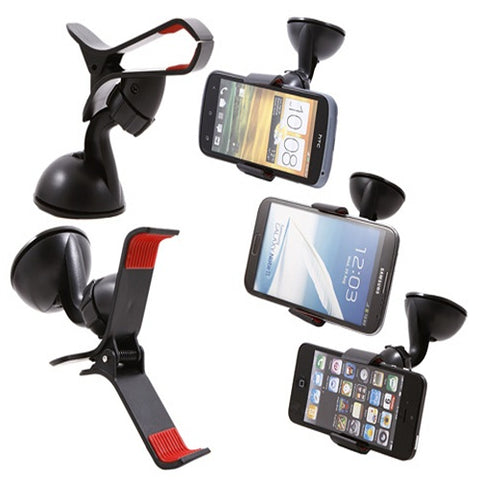 Fly Mobile Stand Car Universal Holder (Random Colour) - FLYMST002