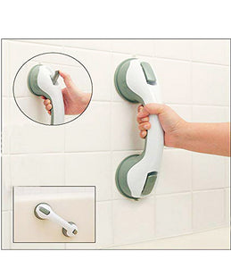 Anti-Slipping Safety Helping Handle with Strong Sucker Easy Grip Suction Bathroom Toilet Old People Disability Grip Handle - HELPHLD