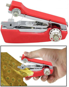 Portable Mini Lightweight Cordless Hand-Operated Manual Stapler Size Tailoring Sewing Stitch Machine - HLDMCH