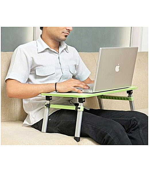 Height Adjustable Foldable Multi-Function Portable Laptop Study/Bed Table (Standard Size) - HQMPT