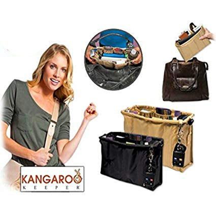 Kangaroo Keeper Magical Purse Organizer Accessories Holder Bag Organizer - KNGKR