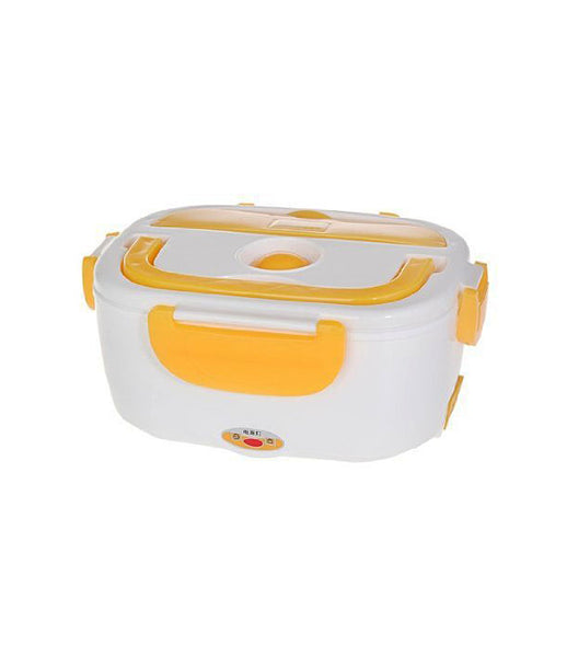 Plastic Multi-Function Electric 40W Heated Portable Food Warmer | Electric Lunch Box | Tiffin Box | Lunch Dabba, 1.5L - LUNBXB