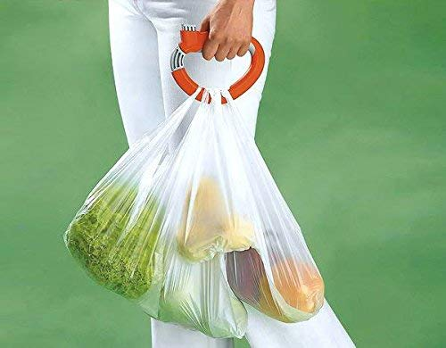 Home One Trip Grips Shopping Grocery Bag Holder Handle Carrier Lock Kitchen Tool - ONTGP