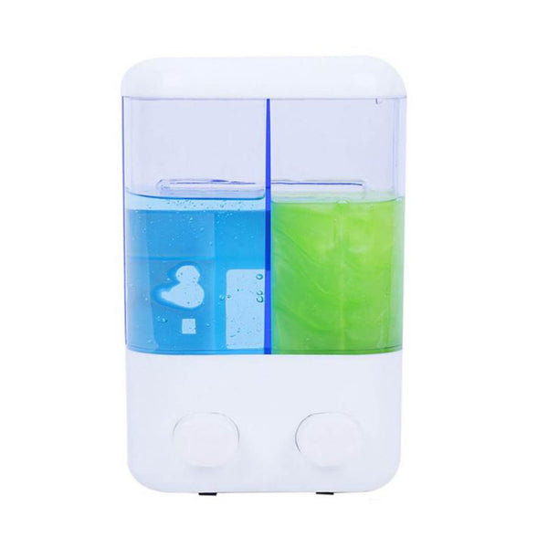 1000Ml Portable Suction Double Wall Mounted Shampoo Soap liquid Dispenser  - PLSOPD