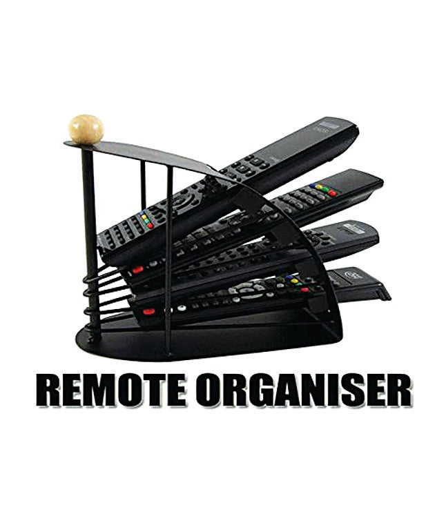 Multi Remote Controller Stand Rack Organizer Remote Stand for TV,DVD,Set up Box - REMSTD01