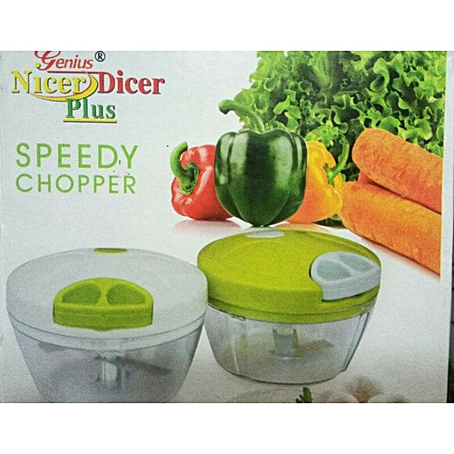 Kitchen Food Speedy Chopper Dicer Slicer Meat Cutter Mixer Salad Crusher Kitchen Gadget - SPDCHP