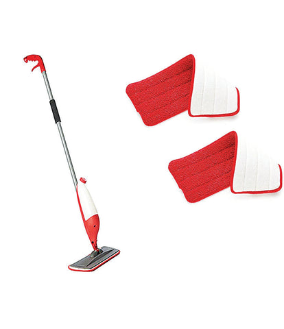 Spray Mop Set Floor Cleaning Without Bucket With 2 Microfibre Pad Cleaning Mop Spy Mop - SPYMOP2