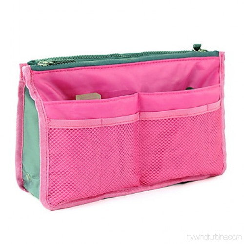 Multi Functional Pouch Cosmetic Bags Makeup Bag Storage Travel Bag Handbag Mp3 Phone Cosmetic Book Storage Purse - TRHDBGPK