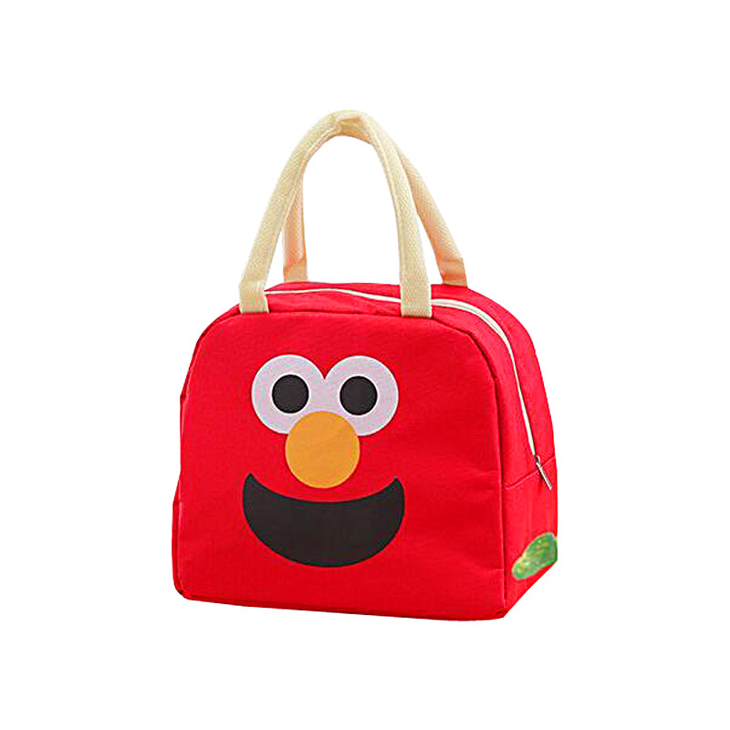 Lunch Box for Girls and Boys Lunch Bags for School Lunch Bag and Box for Home and Office Use Best for Travel Purpose Canvas Insulated Lunch Bag - TRHUGBAG-RD