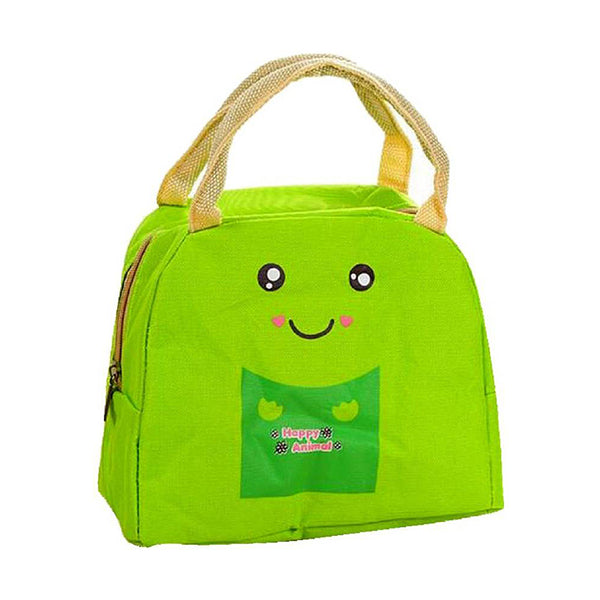 Lunch Box for Girls and Boys Lunch Bags for School Lunch Bag and Box for Home and Office Use Best for Travel Purpose Canvas Insulated Lunch Bag - TRHUGBAG-GR