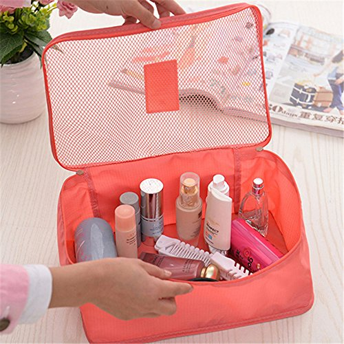 6pcs Packing Portable Travel Storage Bag Organiser Luggage Suitcase Pouches Laundry Bag - TRLDBAGSF