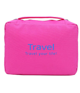 Multi Functional Pouch Travel Pouch Cosmetic Bags Makeup Bag Storage Travel Bag Hand Bag Cosmetic Storage Purse - TRVBAGPK