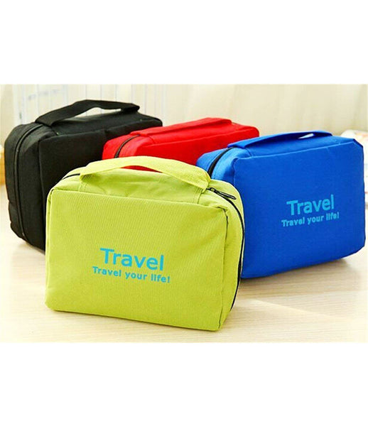 Multi Functional Pouch Travel Pouch Cosmetic Bags Makeup Bag Storage Travel Bag Hand Bag Cosmetic Storage Purse - TRVBAGGR