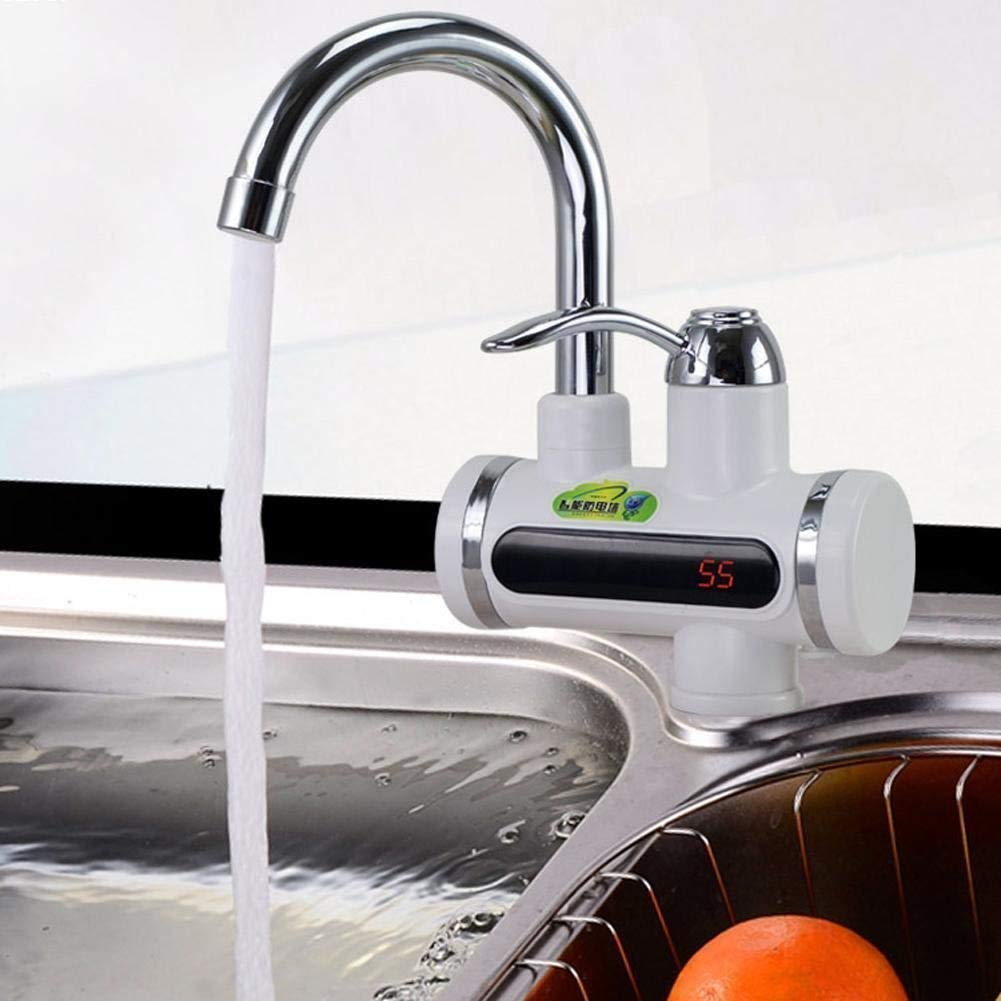 Instant Water Heater Electric Faucet Kitchen/Bathroom Hot Water Heating Tap Tankless-Water-Heater - WTRHTRTAP