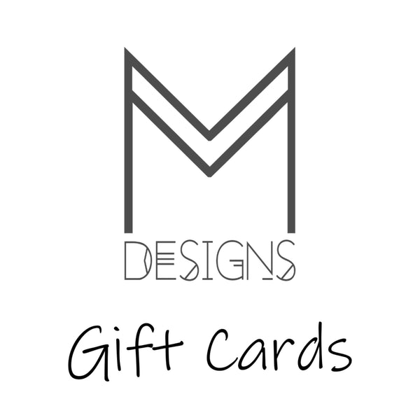 M Designs gift cards