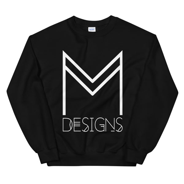 M Designs logo sweatshirt apparel black
