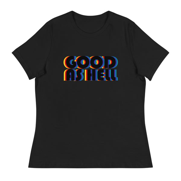 Good as hell t-shirt black red yellow blue Lizzo music