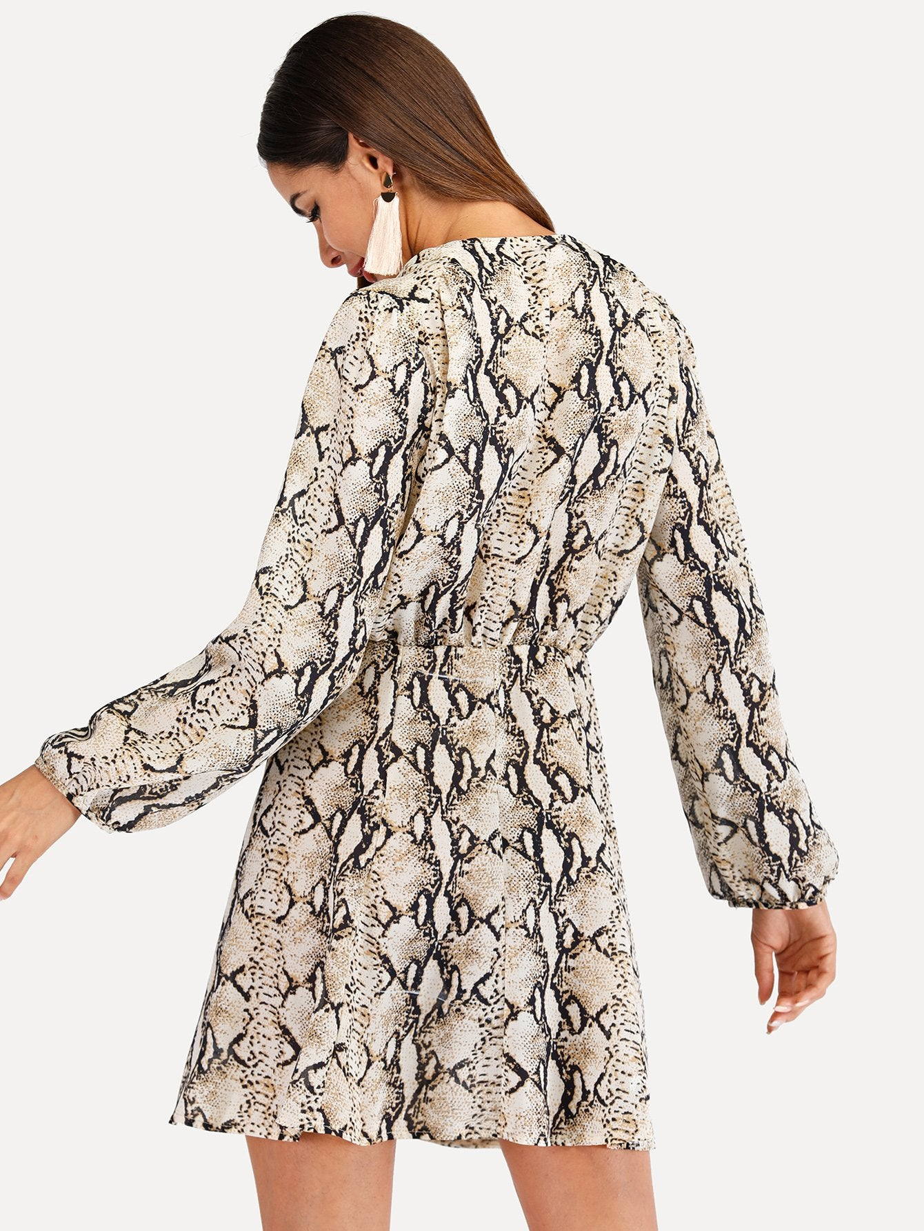 dress womens snake print dress animal printed dress lord owens
