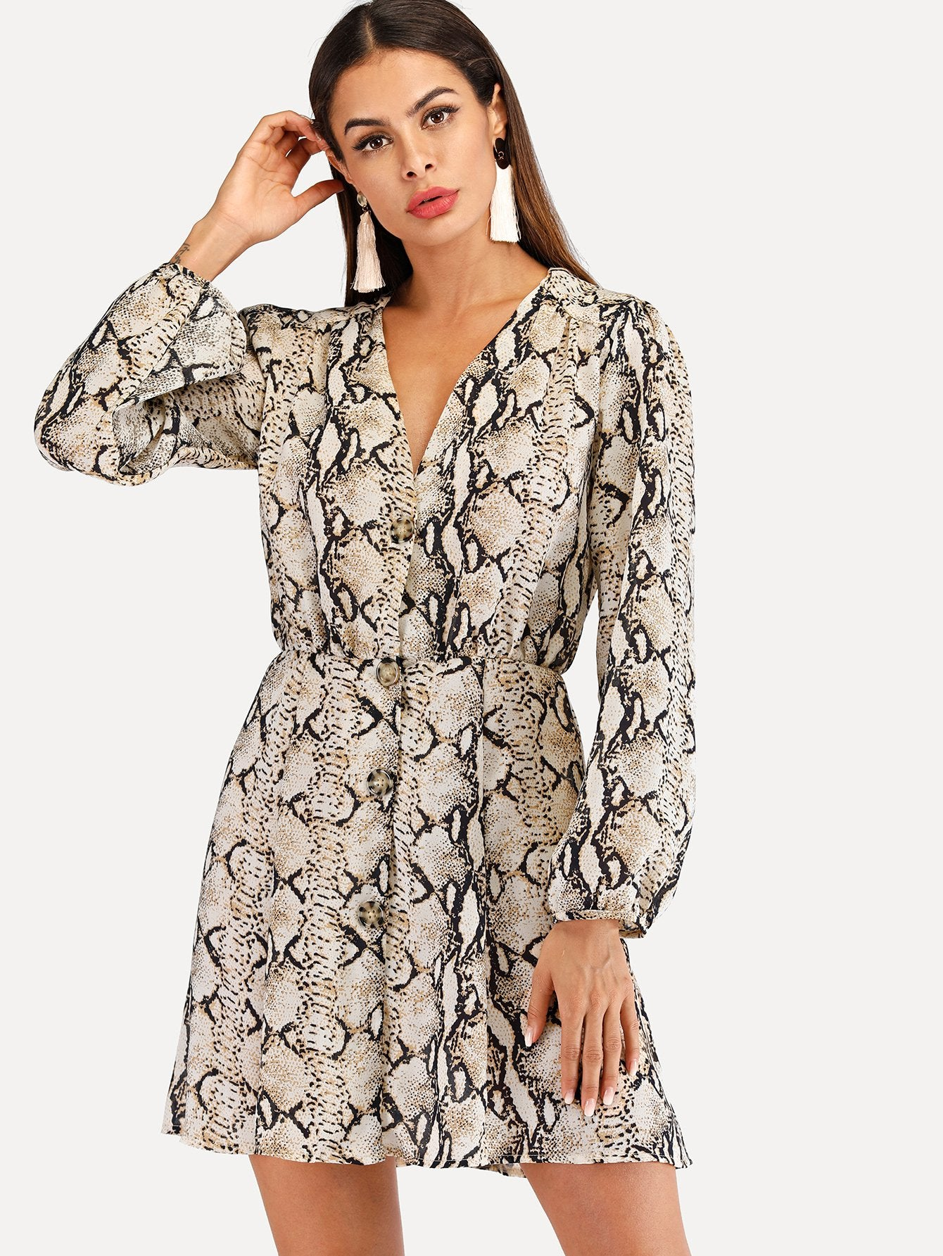 lord owens womens dresses print snake print animal print