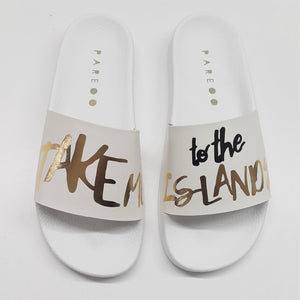 Take Me To The Islands Sandals Shoes