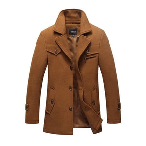 brown black mens coat winter fall jacket mens outerwear lord owens