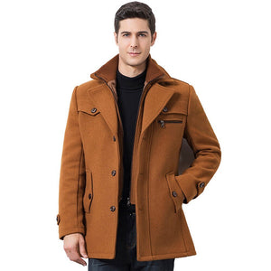 tan black mens coat winter fall jacket mens outerwear lord owens