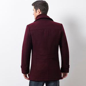 burgundy black mens coat winter fall jacket mens outerwear lord owens