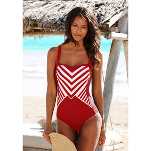 Genesis Stripe One Piece Swimsuit