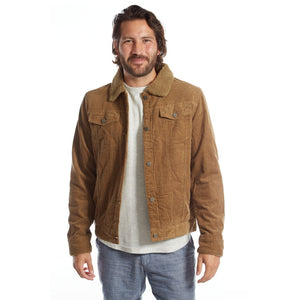 mens jacket brown corduroy aviator coat mens clothes lord owens