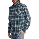 mens green plaid shirt button up top mens clothes lord owens
