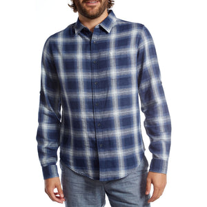 mens blue shirt long sleeve top mens clothes lord owens