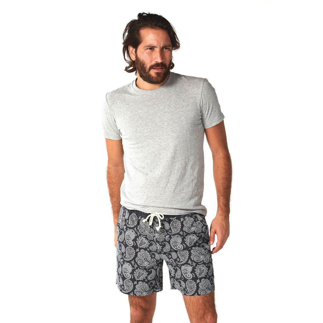 black swim trunks shorts mens swimwear clothes clothing lord owens
