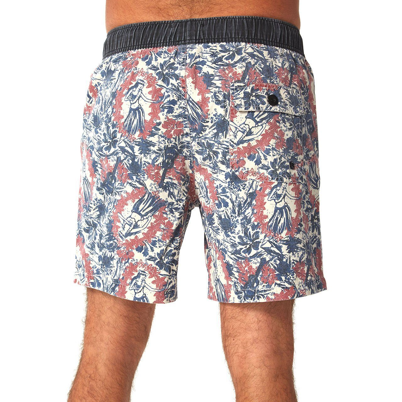 mens white swim shorts floral pattern tropical swimming mens clothes lord owens